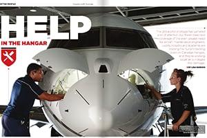 Help in the Hangar